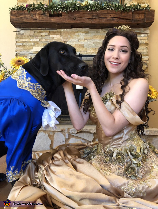 Beauty and the Beast!, Beauty and the... Dog?? Costume