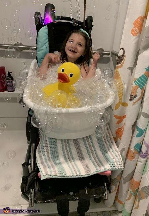 Beauty in the Bubble Bath Costume