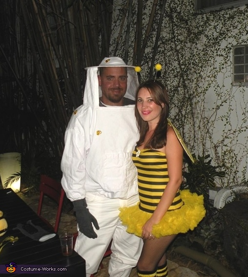 Bee and Beekeeper Couple's Costume