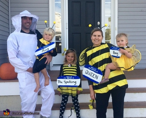 Bee Family Costume