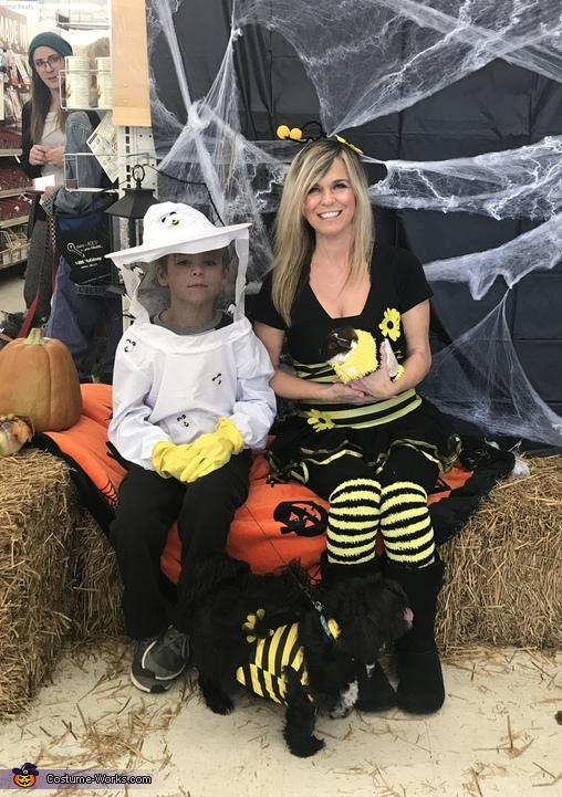 Bee Keeper and his Bees Costume