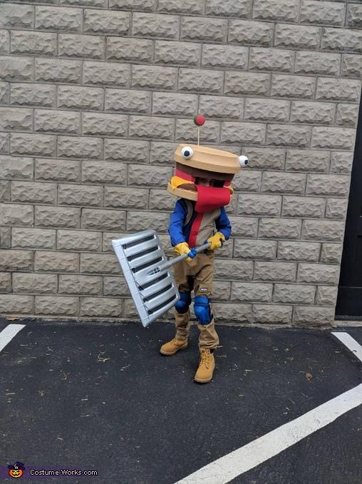 Beef Boss Homemade Costume