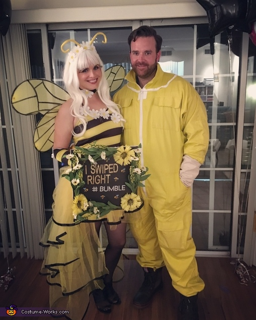 Beekeeper and #Bumble bee Homemade Costume