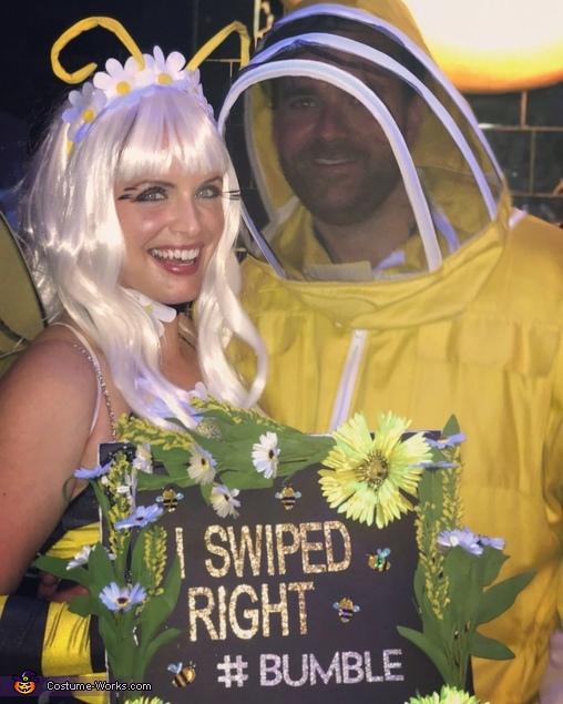 Beekeeper and #Bumble bee Homemade Costume