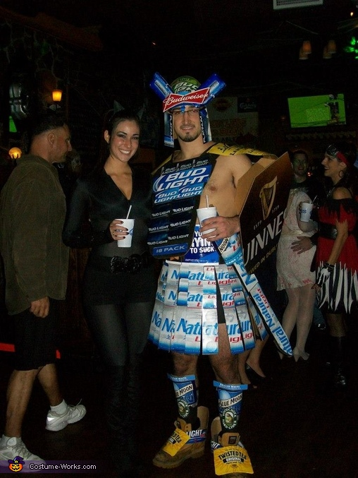 Rocky and Tia, Beer Gladiator Costume