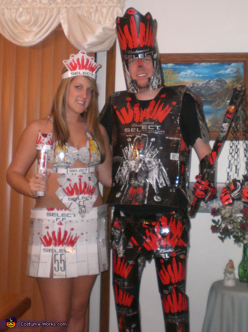 Beer Knight and Princess Costume