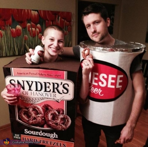 Beer & Pretzels Couples Costume