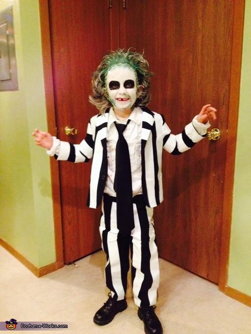 Happy kid, Beetleguise / Beatlejuice Costume