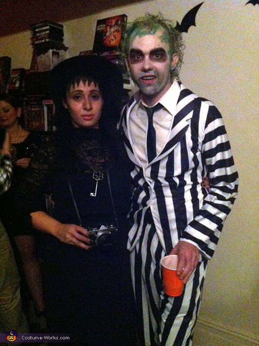 Beetlejuice Group Halloween Costume Idea How To Guide Photo 4 5