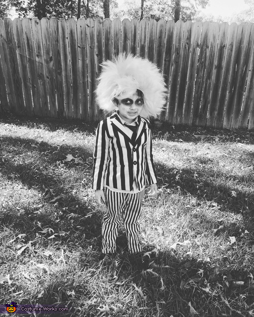 Boy's Beetlejuice Costume