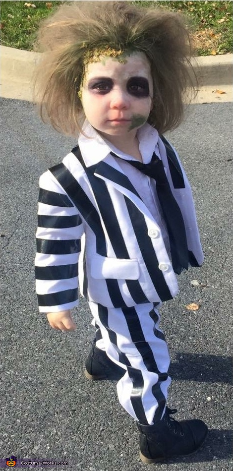 Beetlejuice Toddler Halloween Costume