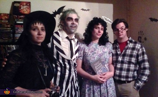 Beetlejuice Group Halloween Costume Idea How To Guide Photo 2 5