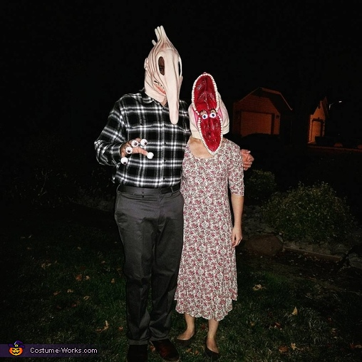 Couples Costume, Beetlejuice Costume