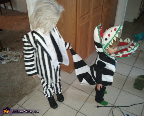Beetlejuice and the Sandworm, Beetlejuice Costume