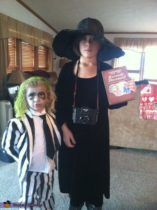 Lydia and Beetlejuice, Beetlejuice Family Costume