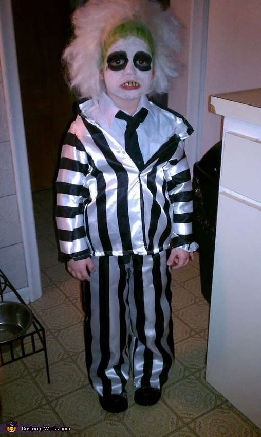 Beetlejuice Boy's Costume