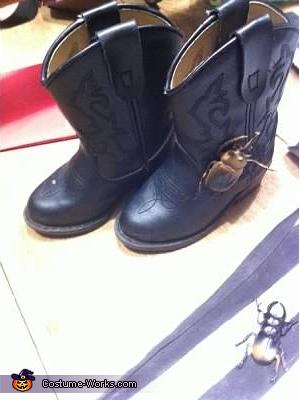 Boots, Beetlejuice Costume