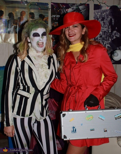 Beetlejuice Homemade Costume