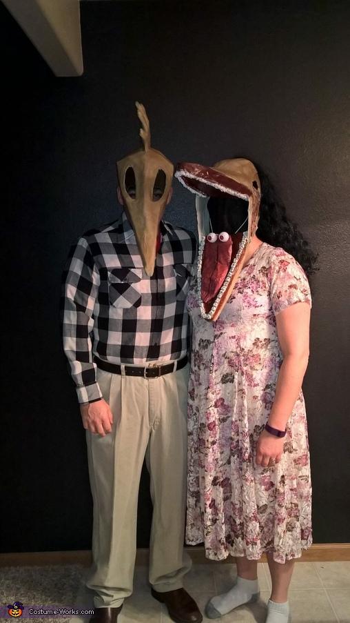 Adam and Barbara, Beetlejuice Costume