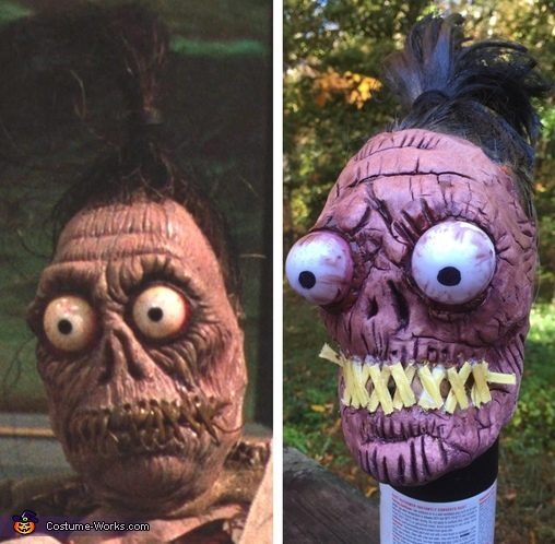 The shrunken head, Beetlejuice Costume
