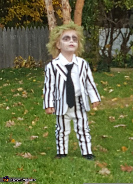 Beetlejuice Toddler Girl's Costume