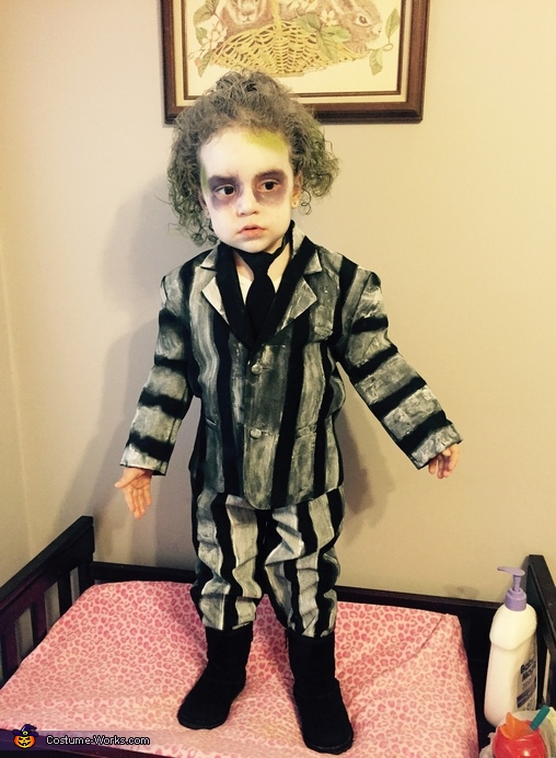 Beetlejuice Baby Girl's Costume