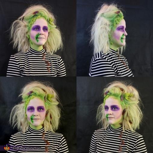 Female Beetlejuice Costume Photo 2 5