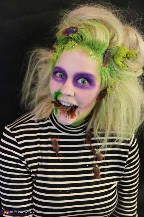 Beetlejuice Costume Female Makeup Saubhaya Makeup