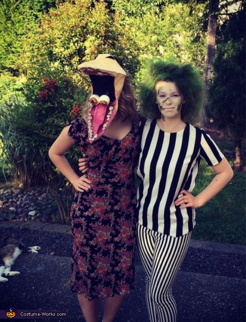 Beetlejuice and Barbara Costume