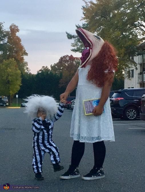 Beetlejuice and Barbara Maitland Costume