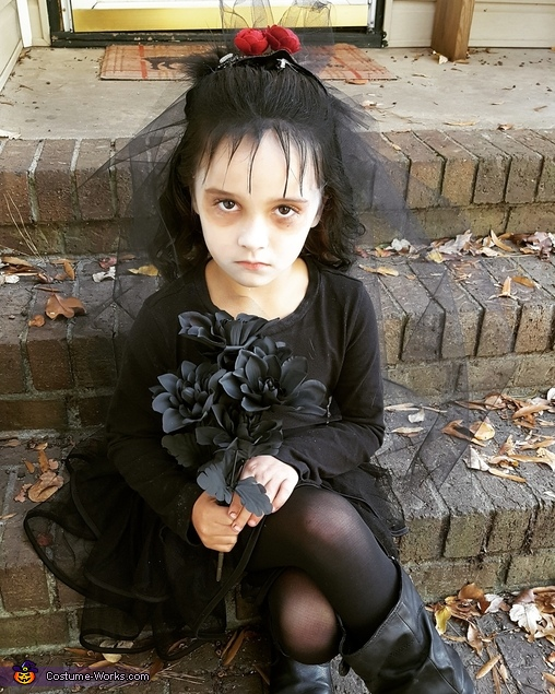 Children's Beetlejuice and Lydia Costumes