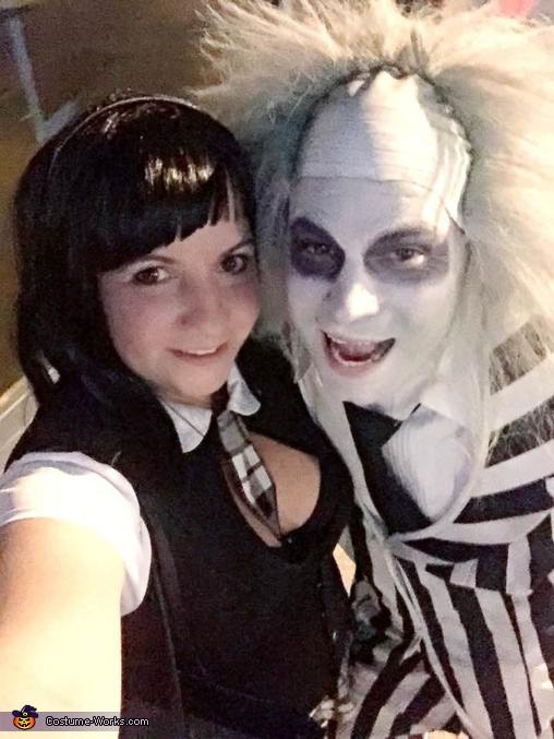 Day light comin and me want to go home, Beetlejuice and Lydia Costume
