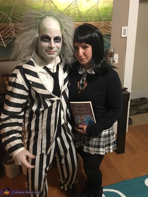 You say Day, Beetlejuice and Lydia Costume