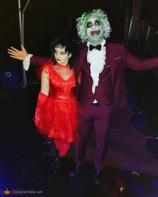 Beetlejuice And Lydia Deetz Wedding Costume Photo 2 4