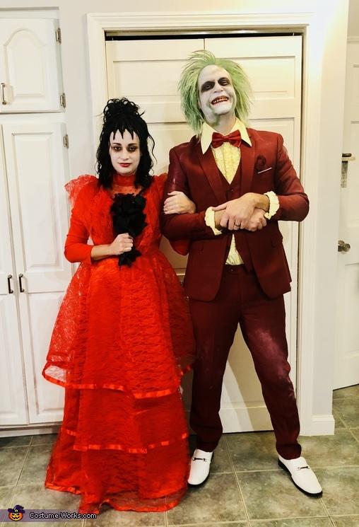 Beetlejuice and Lydia's Wedding Costume