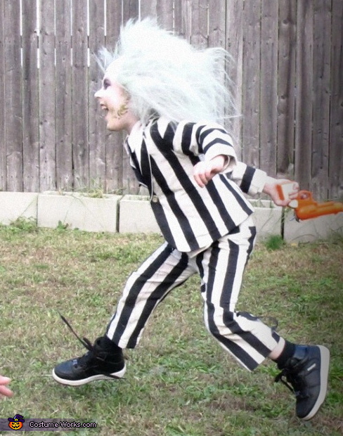Homemade Beetlejuice Costume For Boys Best Diy Costumes Photo 2 2