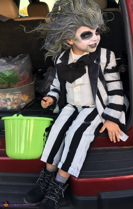 Was a little windy out there!, Beetlejuice Boy's Costume