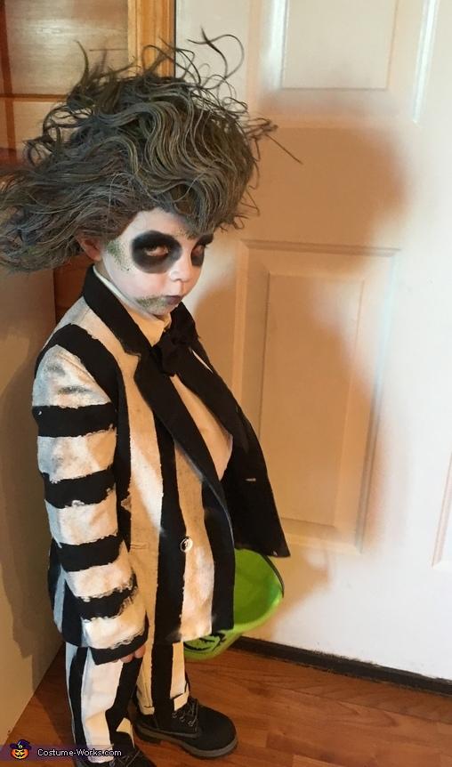 Scary dude, Beetlejuice Boy's Costume