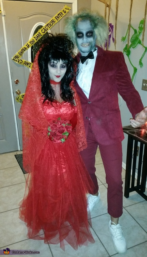 Beetlejuice Couple Costume