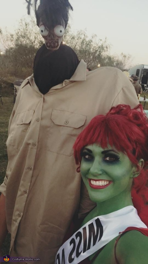 Beetlejuice Crew Homemade Costume