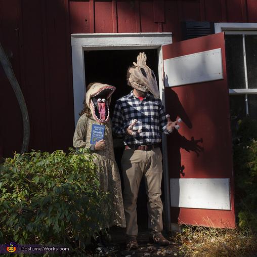 Adam and Barbara, Beetlejuice Family Costume