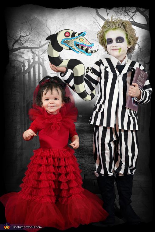Beetlejuice and Lydia, Beetlejuice Family Costume