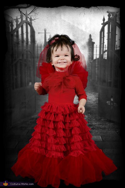 Baby Lydia, Beetlejuice Family Costume
