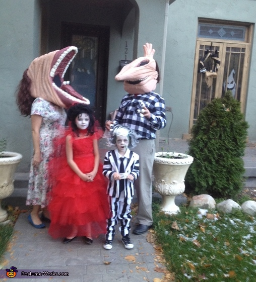 Beetlejuice Family Halloween Costumes