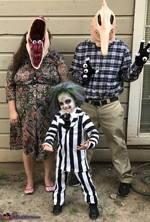 Beetlejuice Family Costume Coolest Halloween Costumes
