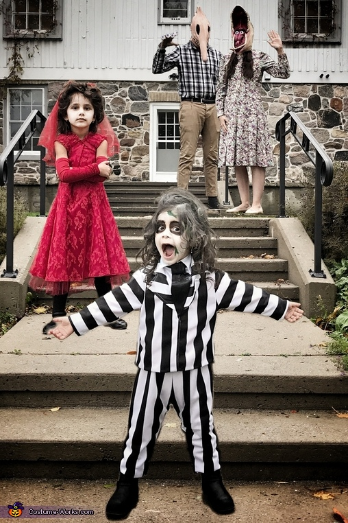 Beetlejuice Family Costume