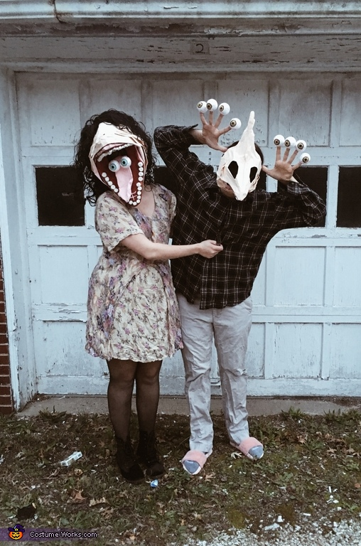 Beetlejuice Ghost Couple Costume