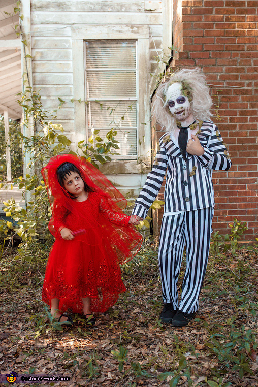 I'm the ghost with the most, babe., Beetlejuice Group Costume