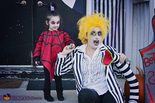 Lydia from the cartoon Beetlejuice Costume