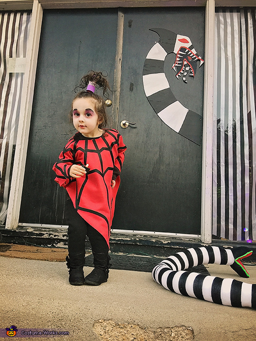 Did I mention she loves to dance?, Lydia from the cartoon Beetlejuice Costume